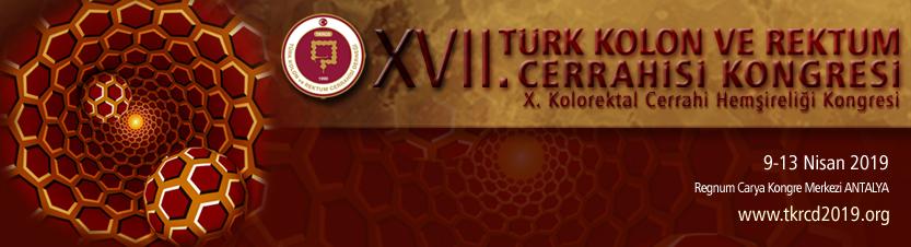 XVII. Ulusal Kolon ve Rektum Cerrahisi Kongresi ve X. Kolorektal Cerrahi Hemşireliği Kongresi