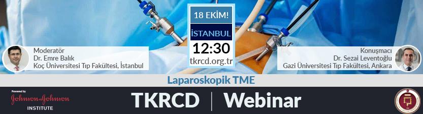 TKRCD Webinar serisi