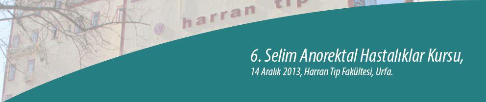 6. Selim Anorektal Hastalıklar Kursu