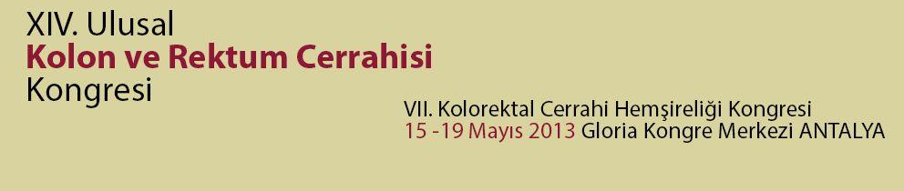XIV. Ulusal Kolon ve Rektum Cerrahisi Kongresi