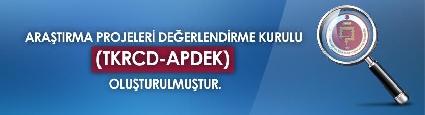 Araştırma Projelerini Değerlendirme Kurulu (TKRCD-APDEK)