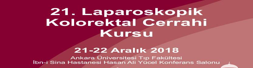 21. Laparoskopik Kolorektal Cerrahi Kursu Programı