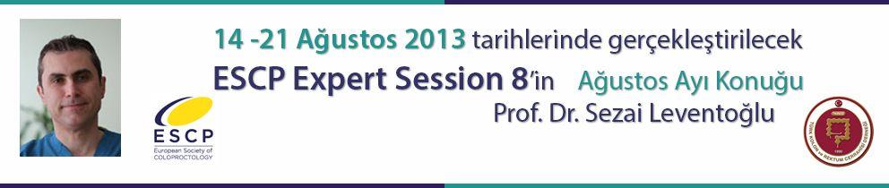 ESCP Expert Session Ağustos Ayı Konuğu Doç. Dr. Sezai Leventoğlu