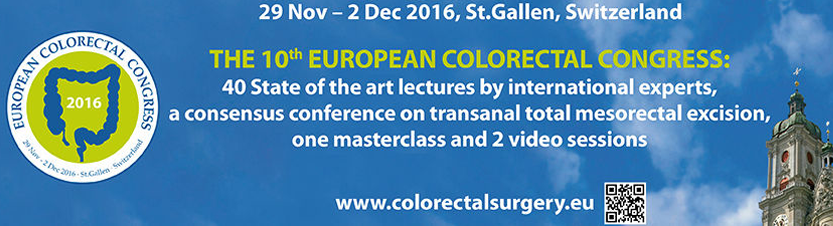 10th European Colorectal Congress