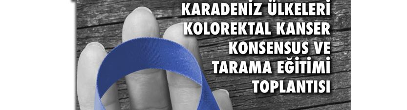 Karadeniz Ülkeleri Kolorektal Kanser Kosensus ve Tarama Eğitimi Programı