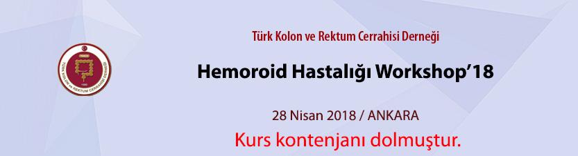 Hemoroid Hastalığı Workshop18