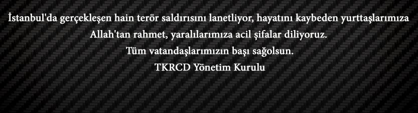 TKRCD Kınama