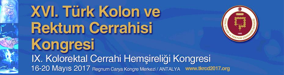 16. Türk Kolon ve Rektum Cerrahisi Kongresi