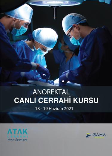 TKRCD I. Anorektal Canlı Cerrahi Kursu (Online)