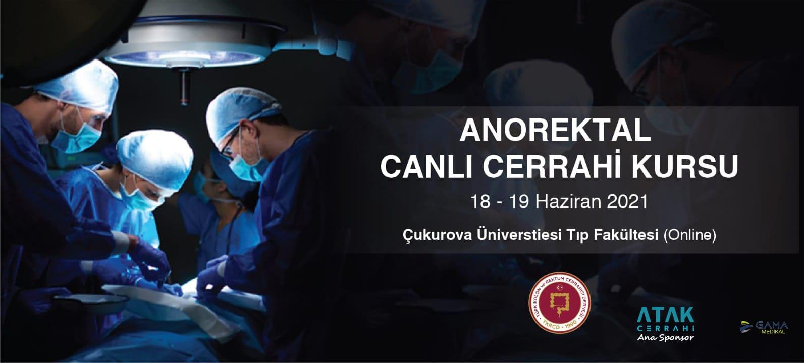 I. Anorektal Canlı Cerrahi Kursu (Online)